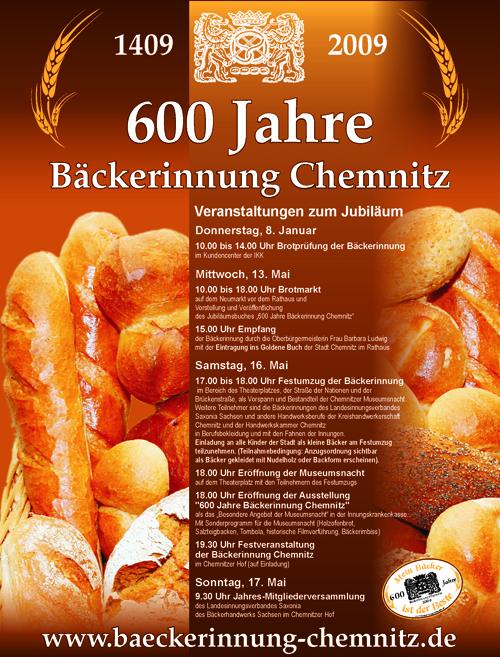 600 Jahre Bäckerinnung Chemnitz