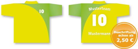 Werbeagentur Future Werbung Chemnitz Trikotbeschriftung Flockfolie